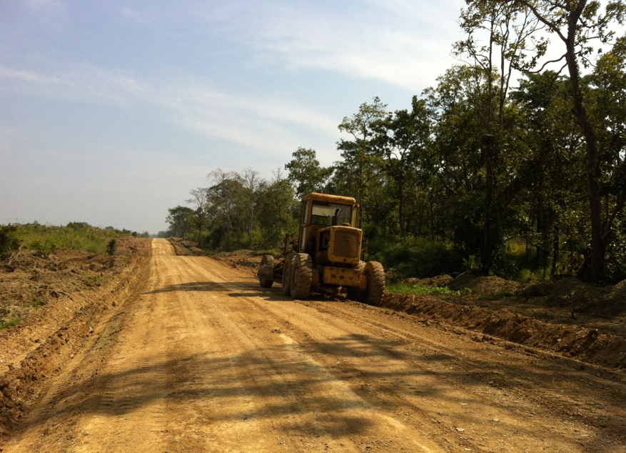 New roads being built