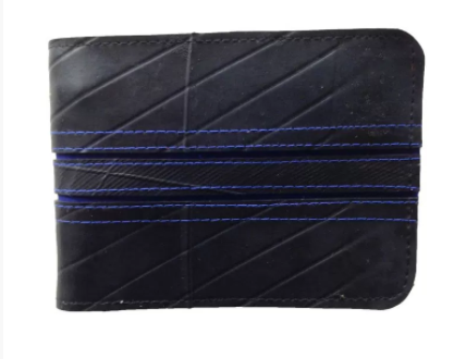 Upcycled Tyre Men's Wallet - £20.00
