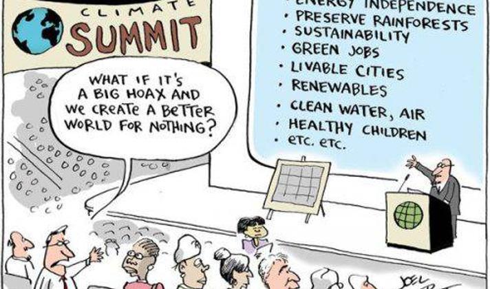 Breaking News: International Sex Scandal at COP 16