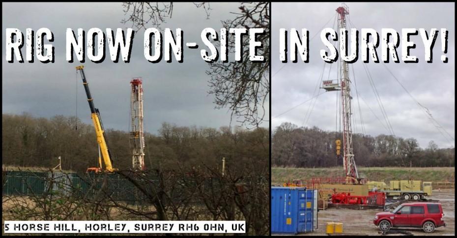 frack surrey