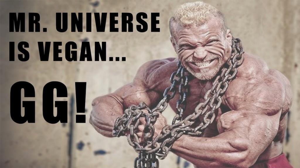 Mr. Universe Barny Du Plessis goes Vegan
