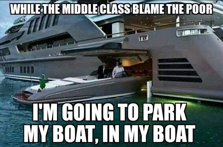 park boat in boat