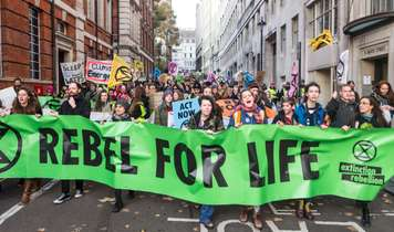 Extinction Rebellion  blockades London