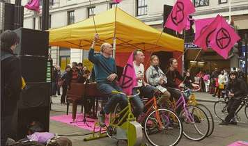 My Joyous Extinction Rebellion Experience