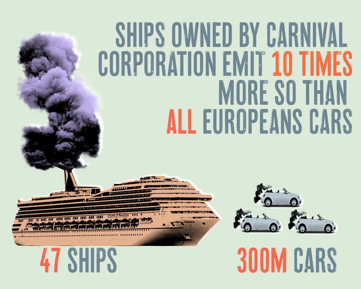 Image result for carnival cruise pollution
