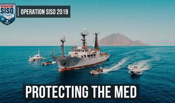 Operation SISO - Mediterranean direct-action campaign against illegal fishing