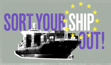 "Citizens tell EU to ""Sort Your Ship Out"" during EU Shipping Week"